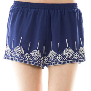 Smooth Sailing Shorts: Blue - Shoreline Boutique