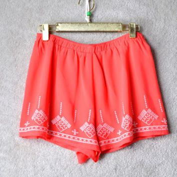 Smooth Sailing Shorts: Coral