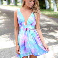 BACHELORETTE DRESS , DRESSES, TOPS, BOTTOMS, JACKETS & JUMPERS, ACCESSORIES, 50% OFF END OF YEAR SALE, PRE ORDER, NEW ARRIVALS, PLAYSUIT, COLOUR, GIFT VOUCHER,,Print,SLEEVELESS,MINI Australia, Queensland, Brisbane