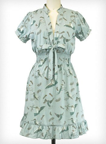 Hummingbird Harmony Dress | PLASTICLAND