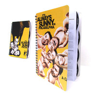 It's Always Sunny in Philadelphia 2014 / 2015 Daily Planner Calendar Academic Agenda Upcycled