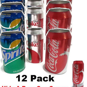 12 Hide Your Beer Soda Pop Can Disguise-Fun BBQ Party Favor- Memorial Day, 4th Of July -Summer…