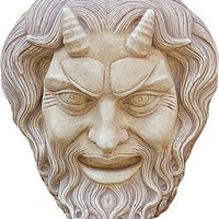 Greek Art | Mask of Pan Wall Relief