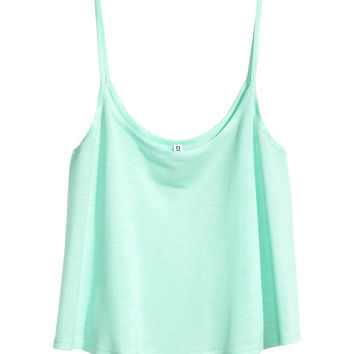 Short Jersey Tank Top  from H M