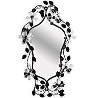 Product Details - Crystal Flower Mirror