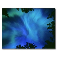 Northern Lights Or Aurora Borealis, Tilton Lake, S