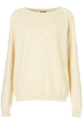 Knitted Nep Slouchy Sweat - Knitwear - Apparel - Topshop USA