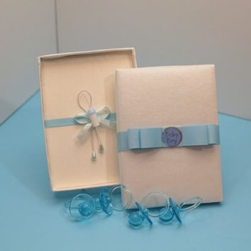 Baby Shower Silk Invitation – Baby Boy