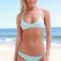 The Girl and The Water - Mikoh Swimwear - Uluwatu Bikini Top / Capri - $100