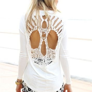 Lace Skull Tunic  SABO SKIRT