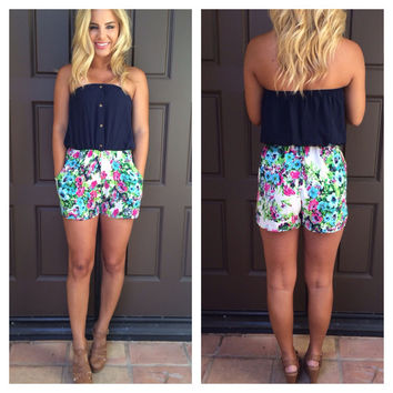 Tickets to Paradise Romper