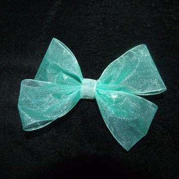 Elsa from Frozen themed Bow