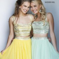 In Stock Prom Dresses - Sherri Hill 11060 Two Piece