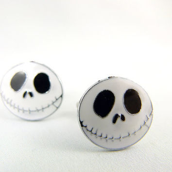 Jack Skellington Nightmare Before Christmas Black by angelyques