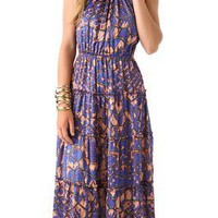 Tbags Los Angeles Print Maxi Dress | SHOPBOP