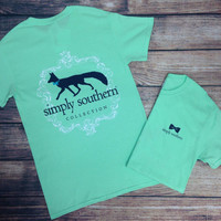SIMPLY SOUTHERN - FOX TEE – LaRue Chic Boutique