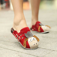 Wholesale 2011 new type lovely inner increased slippers Z-DRE-D9 red - Lovely Fashion