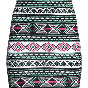 Patterned Skirt  from H M