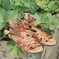 Shadow Vine Sandals