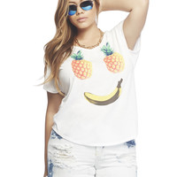Pineapple Smile Tee | Wet Seal +