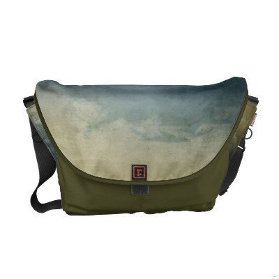 Abstract Texture Messenger Bag from Zazzle.com
