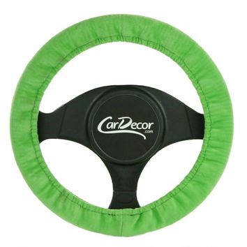 Lime Green Steering Wheel Cover