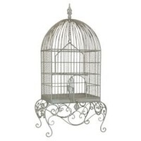 One Kings Lane - Three Hands - Metal Bird Cage