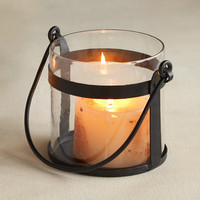 HANGING GLASS PILLAR HOLDER - Candlelight - Accessories - For the Home | Robert Redford's Sundance Catalog
