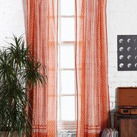 Magical Thinking Scallop Scale Curtain-