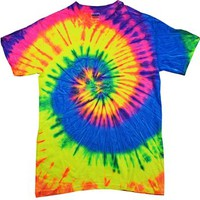 Tie-Dye CD100 5.4 oz. 100% Cotton Tie-Dyed T-Shirt