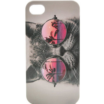 With Love From CA Revo Cat Sunnies iPhone 44S Case  Womens