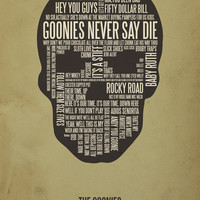 The Goonies Art Print | Society6 $30