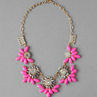 BIXBY NEON STATEMENT NECKLACE
