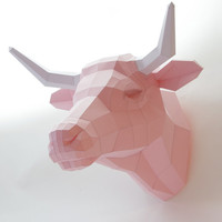 Fake Trophy Cow Cattle, Cow Deco kit