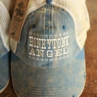 HONKY TONK ANGEL TRUCKER CAP - Junk GYpSy co.