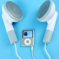 FredFlare.com - 500XL GIANT Earbud Speakers - Shop Fred & Friends Now