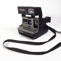 Vintage Polaroid 600 Land Camera by ModernFiction on Etsy