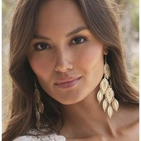 FILIGREE CHANDELIER EARRINGS | Body Central