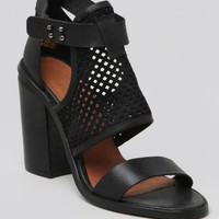 Lily Leather Heel