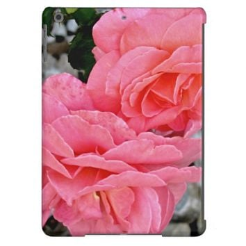 Peach Austin Roses iPad Air Case