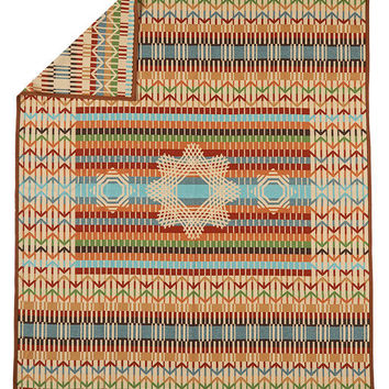 Quill Basket, Pendleton® Wool Blanket