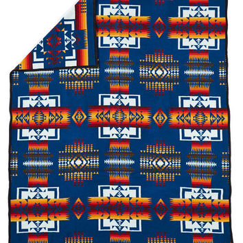 Chief Joseph Indian Blanket, Aegean Blanket, Pendleton® Blanket