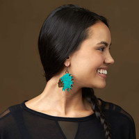 Chief Joseph Earrings, Native American Jewelry