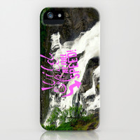 Wild & Free iPhone & iPod Case by RDelean