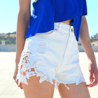 Lace Well Shorts | Shop Civilized