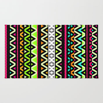 Neon Mix Rug by Ornaart