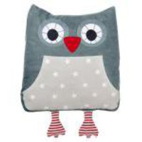 Sand Owl Cushion