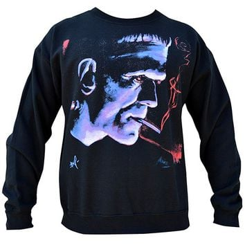 Frankie Crewneck Sweatshirt by Black Market Art