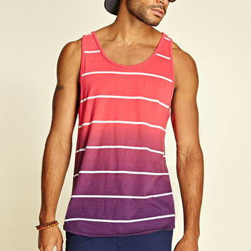 Striped Ombr Tank Top