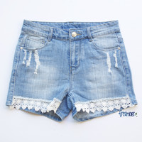 ELOISE DENIM SHORT